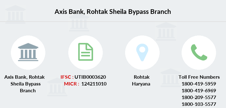 Axis-bank Rohtak-sheila-bypass branch