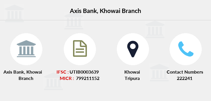 Axis-bank Khowai branch