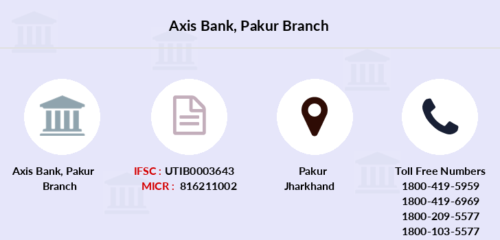 Axis-bank Pakur branch