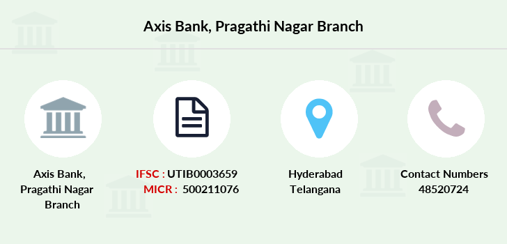 Axis-bank Pragathi-nagar branch