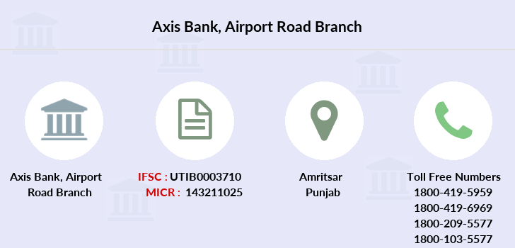 Axis-bank Airport-road branch