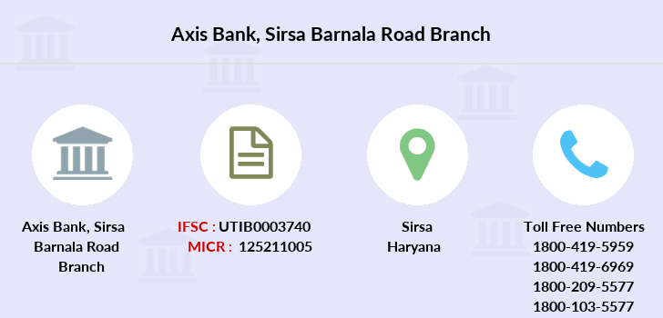 Axis-bank Sirsa-barnala-road branch