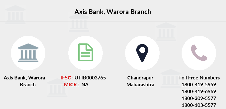 Axis-bank Warora branch