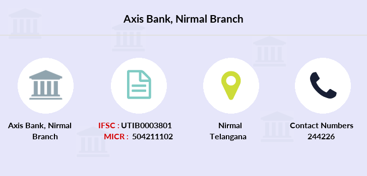 Axis-bank Nirmal branch