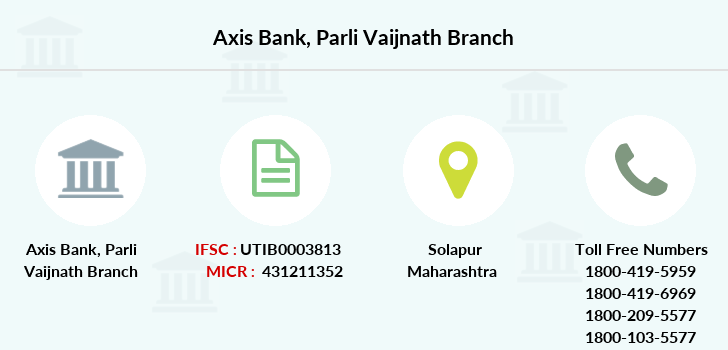Axis-bank Parli-vaijnath branch