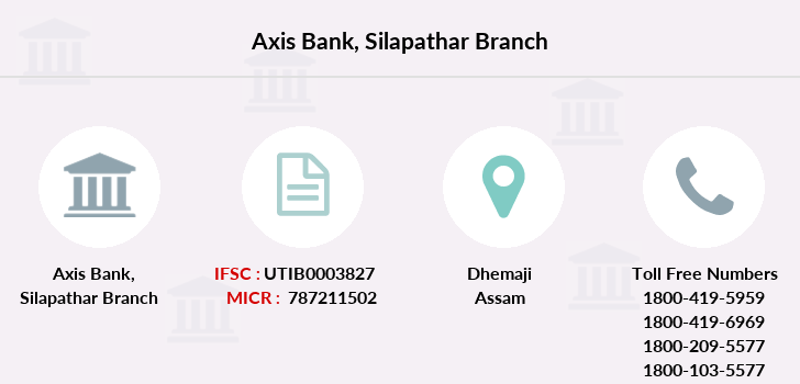Axis-bank Silapathar branch