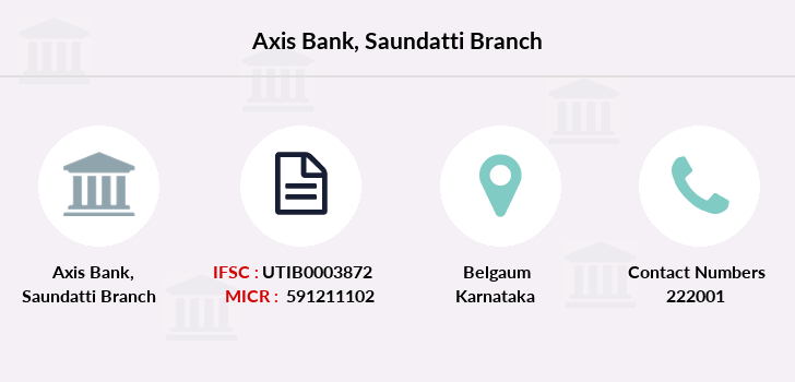 Axis-bank Saundatti branch