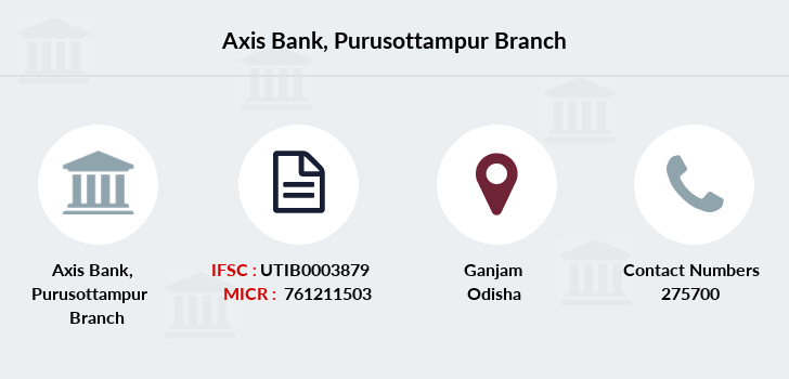 Axis-bank Purusottampur branch