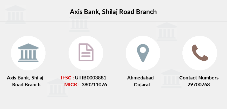 Axis-bank Shilaj-road branch