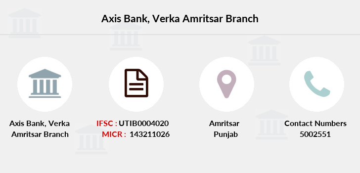 Axis-bank Verka-amritsar branch