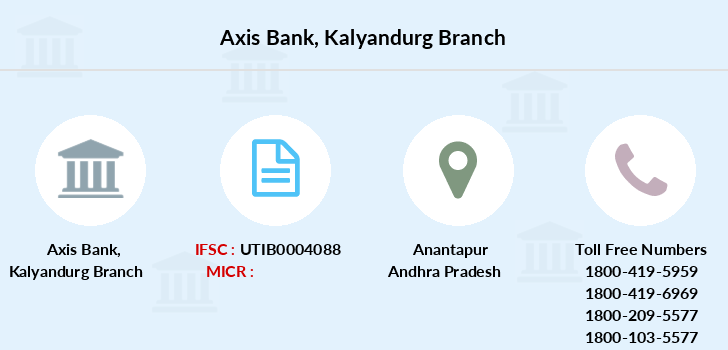 Axis-bank Kalyandurg branch