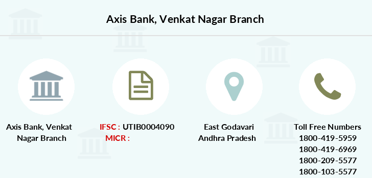 Axis-bank Venkat-nagar branch