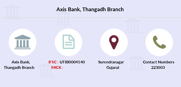 Axis-bank Thangadh branch