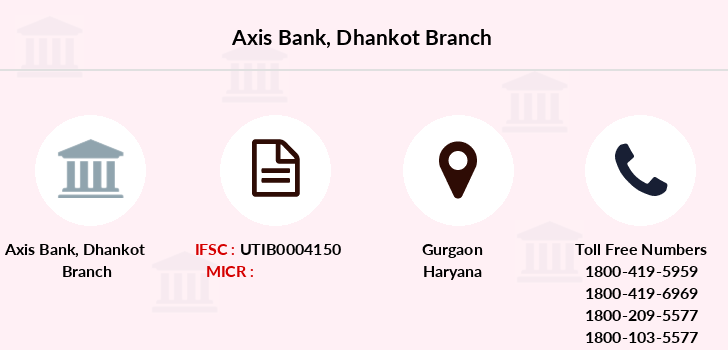 Axis-bank Dhankot branch