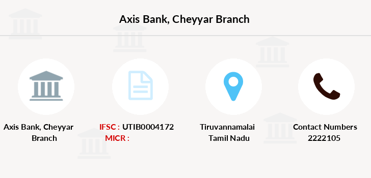 Axis-bank Cheyyar branch