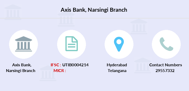 Axis-bank Narsingi branch