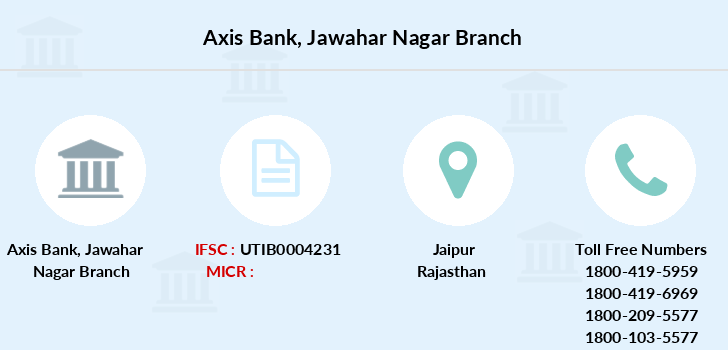 Axis-bank Jawahar-nagar branch