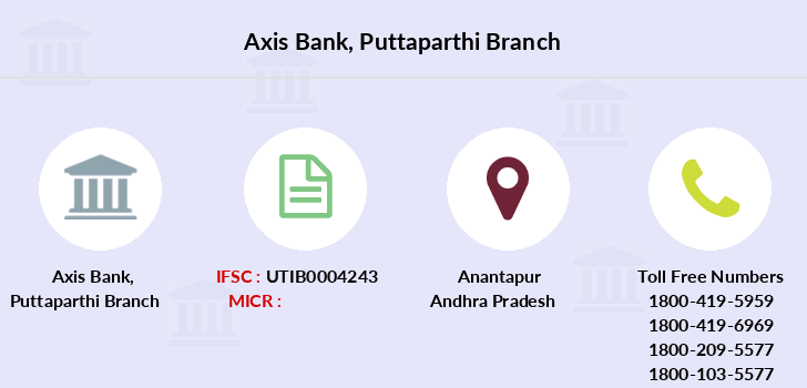 Axis-bank Puttaparthi branch