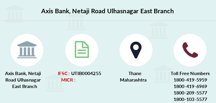 Axis-bank Netaji-road-ulhasnagar-east branch