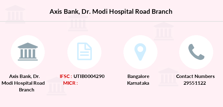 Axis-bank Dr-modi-hospital-road branch