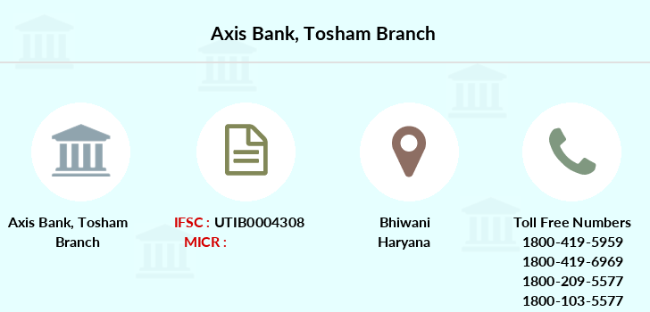 Axis-bank Tosham branch