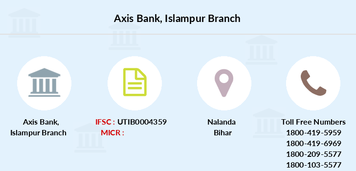 Axis-bank Islampur branch