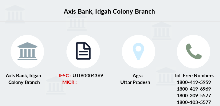 Axis-bank Idgah-colony branch