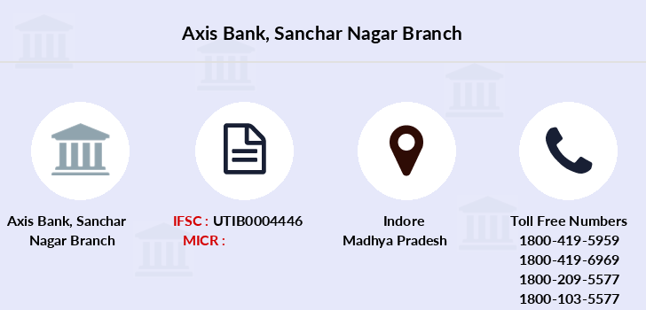 Axis-bank Sanchar-nagar branch