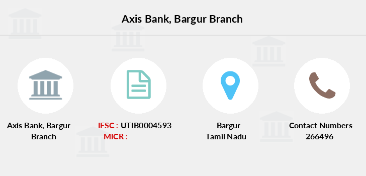Axis-bank Bargur branch