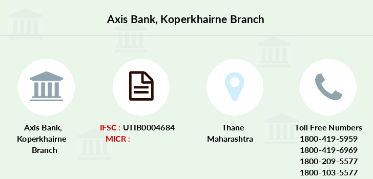 Axis-bank Koperkhairne branch