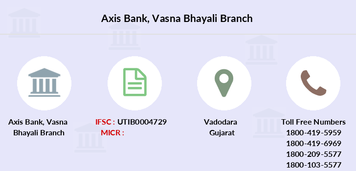 Axis-bank Vasna-bhayali branch
