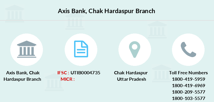 Axis-bank Chak-hardaspur branch