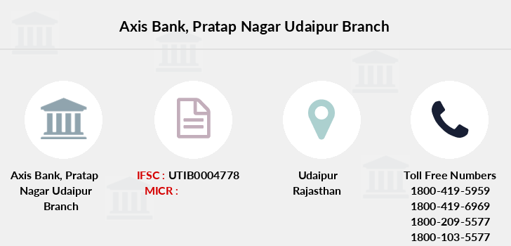 Axis-bank Pratap-nagar-udaipur branch