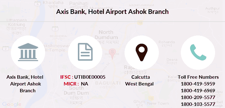 Axis-bank Hotel-airport-ashok branch