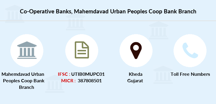 Co-operative-banks Mahemdavad-urban-peoples-coop-bank branch