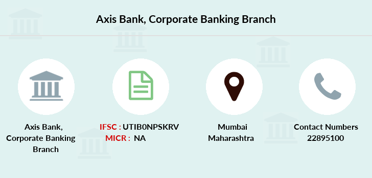 Axis-bank Corporate-banking branch