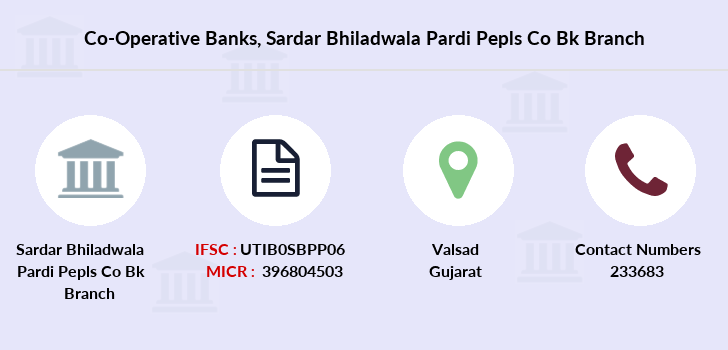Co-operative-banks Sardar-bhiladwala-pardi-pepls-co-bk branch