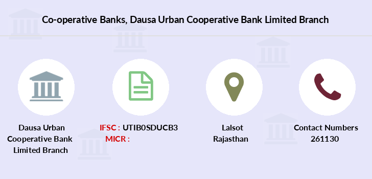 Co-operative-banks Dausa-urban-cooperative-bank-limited branch