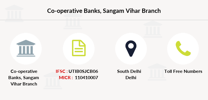 Co-operative-banks Sangam-vihar branch