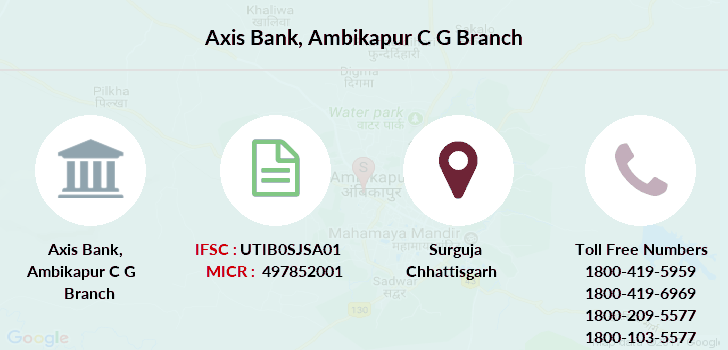 Axis-bank Ambikapur-c-g branch