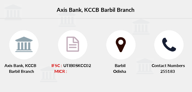 Axis-bank Kccb-barbil branch