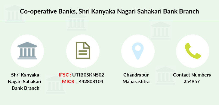 Co-operative-banks Shri-kanyaka-nagari-sahakari-bank branch