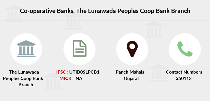 Co-operative-banks The-lunawada-peoples-coop-bank branch