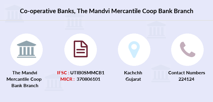 Co-operative-banks The-mandvi-mercantile-coop-bank branch