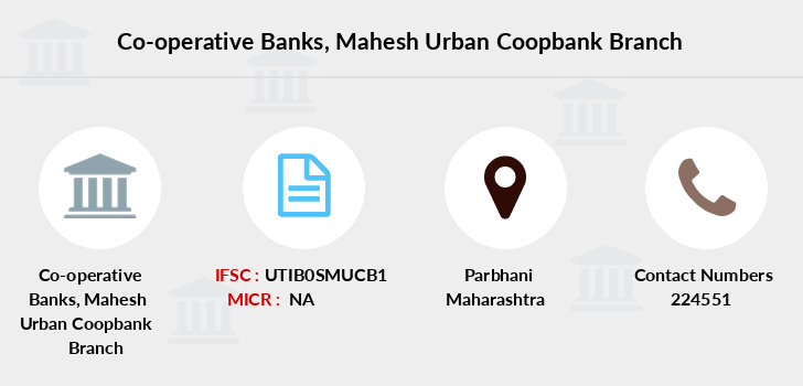Co-operative-banks Mahesh-urban-coopbank branch