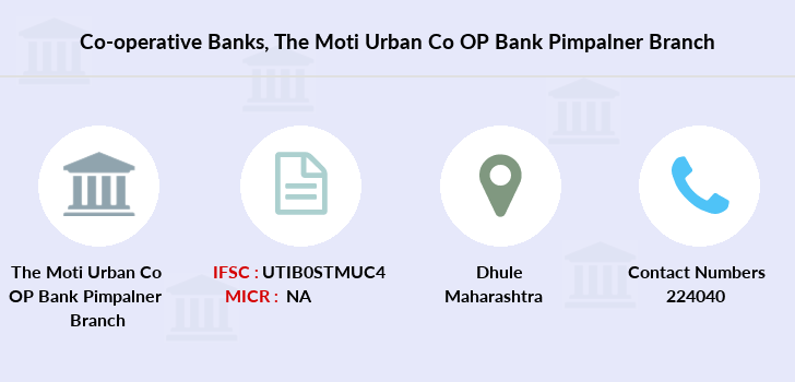 Co-operative-banks The-moti-urban-co-op-bank-pimpalner branch