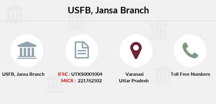 Utkarsh-small-finance-bank Jansa branch