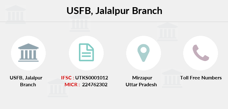 Utkarsh-small-finance-bank Jalalpur branch