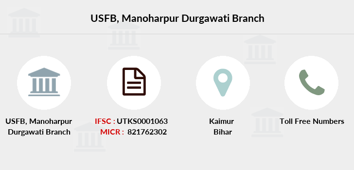 Utkarsh-small-finance-bank Manoharpur-durgawati branch