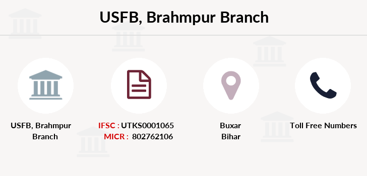 Utkarsh-small-finance-bank Brahmpur branch